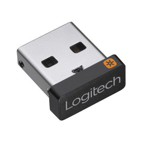 USB Универсален приемник за безжични продукти Logitech Unifying Receiver, up to 6 Devices (снимка 1)