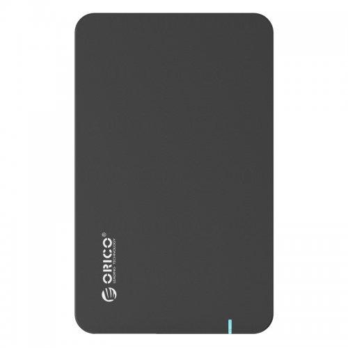 """Кутия за диск Orico 2569S3, 2.5"""" SATA3.0 to USB3.0, UASP, Black (снимка 1)"""
