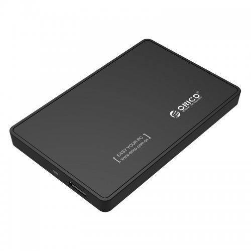 """Кутия за диск Orico 2588US3, 2.5"""" SATA3.0 to USB3.0, UASP, Black (снимка 1)"""