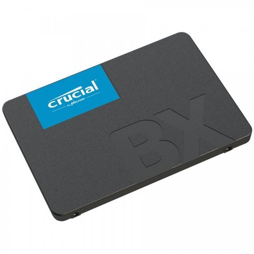 "SSD Crucial 480GB BX500, SATA3, 2.5"", 7mm, CT480BX500SSD1 (снимка 1)"