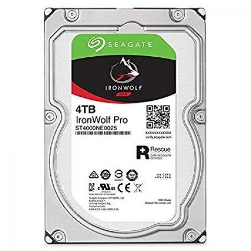 Твърд диск Seagate 4TB IronWolf Pro ST4000NE0025 SATA3 128MB 7200rpm (снимка 1)