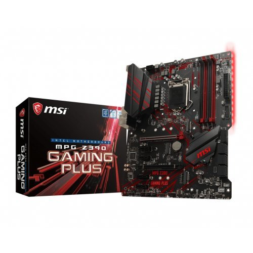 Дънна платка MSI MPG Z390 Gaming Plus, LGA1151 (снимка 1)