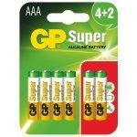 GP 4+2x AAA LR3, 1200mAh, 6 броя в опаковка (Батерии AA/AAA и други)