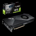 ASUS Turbo-RTX2070-8G, RTX 2070, 8GB GDDR6, 256 bit, PCI-E 3.0, HDMI 2.0b, 3x DisplayPort 1.4, USB Type-C (Видео карти)