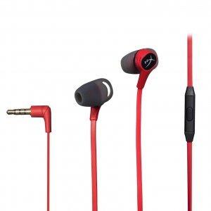 Слушалки Kingston HyperX Cloud Earbuds, Red (снимка 1)