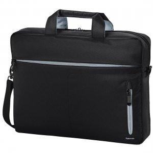 "Чанта за лаптоп Hama Marseille Style 101782, 13.3"" Bag, Black/Grey (снимка 1)"