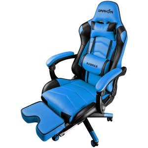 Геймърски стол Raidmax DK709BU, Black/Blue (снимка 1)