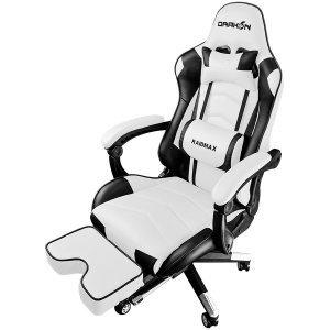 Геймърски стол Raidmax DK709WT, Black/White (снимка 1)