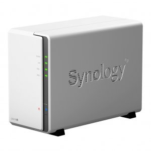 NAS устройство Synology DiskStation DS218j + 2x 3TB Seagate IronWolf ST3000VN007 (снимка 1)