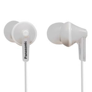 Слушалки Panasonic RP-HJE125E-W In-Ear headphones, 6 - 24 000 Hz, 104 dB/mW, 10mm drivers, 1.2 m cable, 3.5 mm jack, Silver (снимка 1)