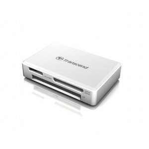 Четец за флаш карти Transcend TS-RDF8W2, USB 3.1 Gen 1, White (снимка 1)