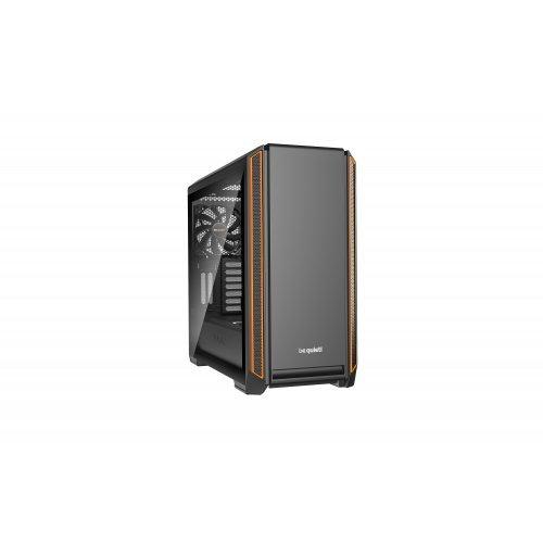 Компютърна кутия Be Quiet! Silent Base 601 Window, BGW25, Orange (снимка 1)