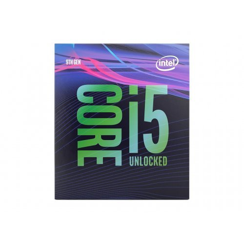 Процесор Intel Coffee Lake Core i5-9600K, LGA1151, 3.7GHz (4.6GHz with Turbo), 9MB L3 Cache, 14nm, 95W, 64 bit, GPU Intel UHD 630, Box (No Fan) (снимка 1)