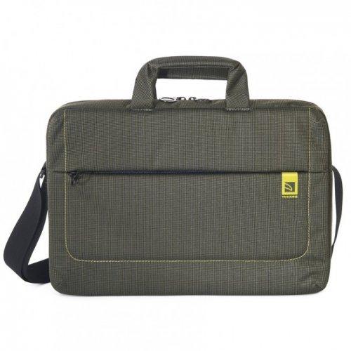 "Чанта за лаптоп Tucano BSLOOP15-V, 15.6"" Bag, Green (снимка 1)"