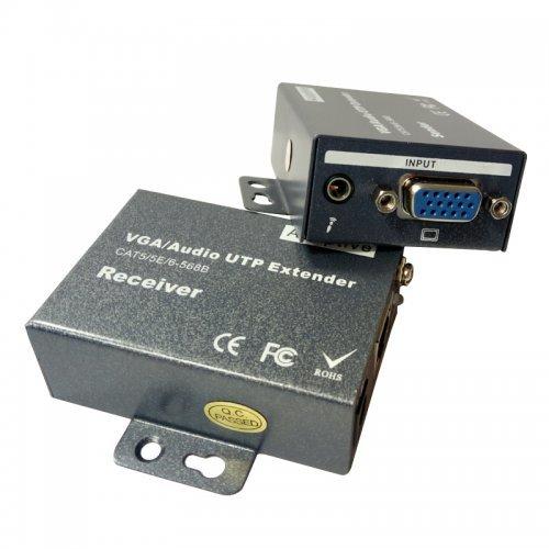 VGA и аудио удължител TT-N802A (снимка 1)