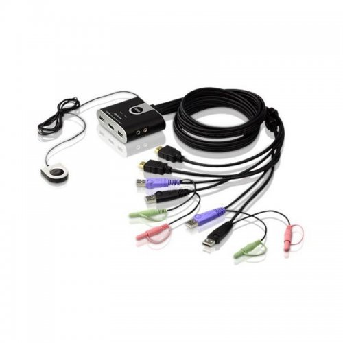I/O модул Aten CS692, 2-Port KVM Switch, USB, HDMI (снимка 1)