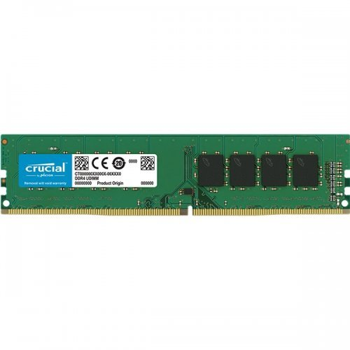RAM памет DDR4 PC 8GB 2666MHz CL19 Crucial (снимка 1)