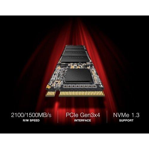 SSD Adata 256GB XPG SX6000 Pro, PCI Express 3 x4, M.2 2280 (снимка 1)