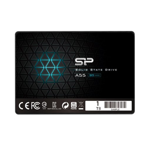 "SSD Silicon Power 1TB, Ace A55, SATA3, 2.5"" 7mm (снимка 1)"