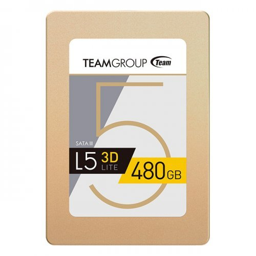 "SSD Team Group 480GB, L5 Lite 3D, SATA3, 2.5"" 7mm (снимка 1)"