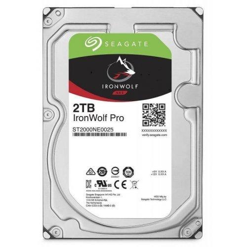 Твърд диск Seagate 2TB IronWolf Pro ST2000NE0025 SATA3 128MB 7200rpm (снимка 1)