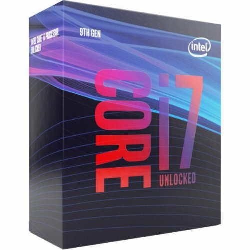Процесор Intel Coffee Lake Core i7-9700K, LGA1151, 3.6GHz (4.9GHz with Turbo), 12MB L3 Cache, 14nm, 95W, 64 bit, GPU Intel UHD 630, Box (снимка 1)