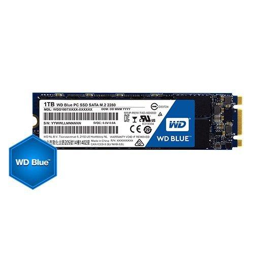 SSD Western Digital 1TB, Blue WDS100T2B0B, M.2 2280 (снимка 1)