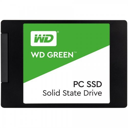"SSD Western Digital 480GB, Green WDS480G2G0A, SATA3, 2.5"" 7mm (снимка 1)"