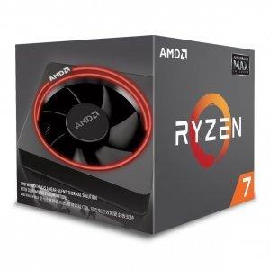 Процесор AMD Ryzen 5 2600X MAX, 6C/12T, s.AM4, 3.6GHz (4.2GHz with Boost), 19MB, 65W, Wraith Max RGB LED Cooler, Box (снимка 1)