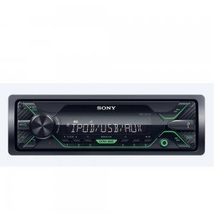 Аудио/Видео Плеъри Sony DSX-A210UI In-car Media Receiver with USB, Зелена подсветка (снимка 1)
