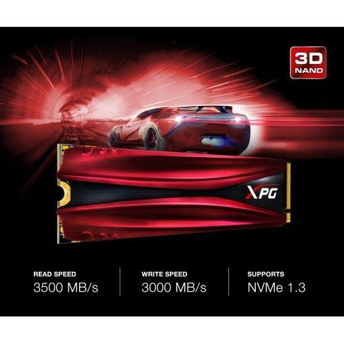 SSD Adata 256GB XPG Gammix S11 Pro, PCI Express 3 x4, M.2 2280 (снимка 1)