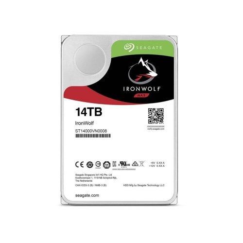 Твърд диск Seagate 14TB IronWolf ST14000VN0008 SATA3 256MB 7200rpm (снимка 1)