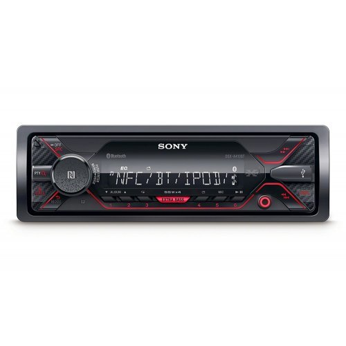 Аудио/Видео Плеъри Sony DSX-A410BT In-car Media Receiver with USB червена подсветка (снимка 1)