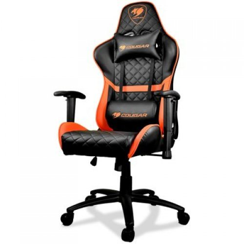 Геймърски стол COUGAR Armor ONE Gaming Chair, Breathable PVC Leather, Class 4 Gas Lift Cylinder (снимка 1)