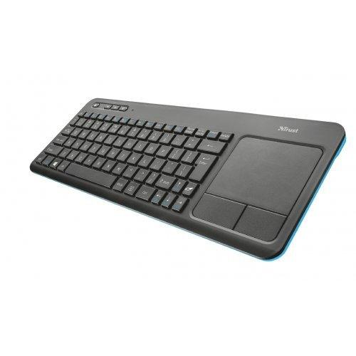 Клавиатура TRUST Veza Wireless Touchpad Keyboard (снимка 1)