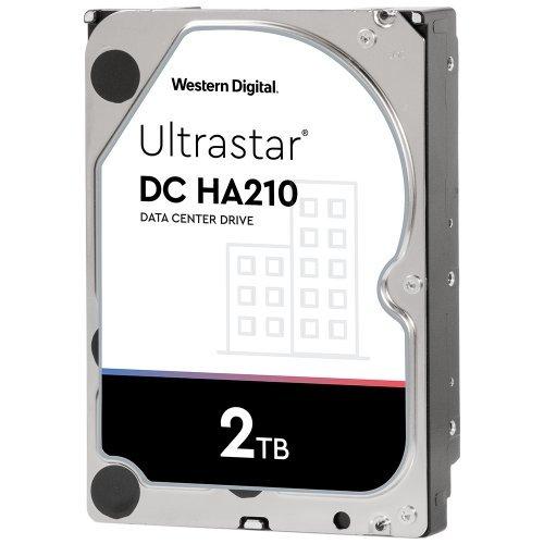 """Твърд диск Western Digital 2TB Ultrastar DC HA210 3.5"""" SATAIII 128MB (снимка 1)"""