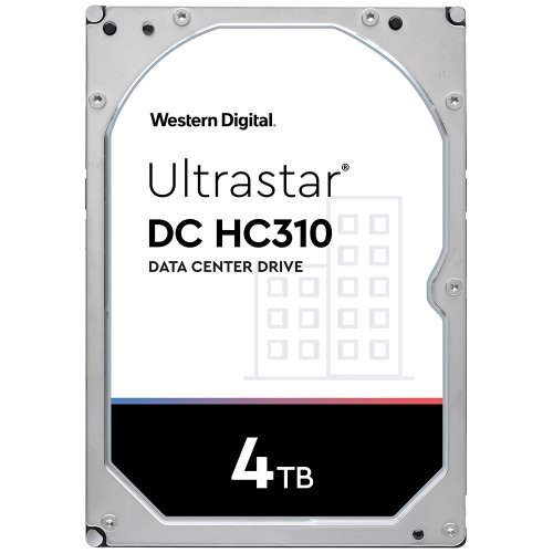 """Твърд диск Western Digital 4TB Ultrastar DC HC310 3.5"""" (снимка 1)"""