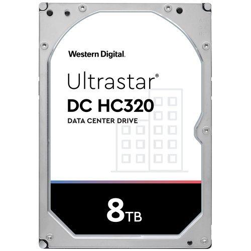 """Твърд диск Western Digital 8TB Ultrastar DC HC320 3.5"""" (снимка 1)"""