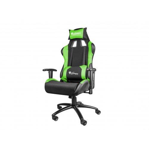 Геймърски стол Genesis геймърски стол NITRO 550 - Black/Green - NFG-0907 (снимка 1)
