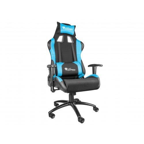 Геймърски стол Genesis геймърски стол NITRO 550 - Black/Blue - NFG-0783 (снимка 1)