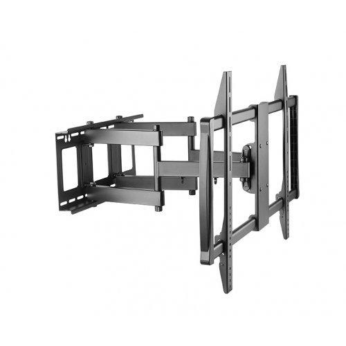 """Стойка, Sunne 60-100-EA TV Wall Mount, 60""""-100"""", max 80kg, max VESA 900x200, Swivel -45/+45°, Tilt -15/+5 ° (снимка 1)"""