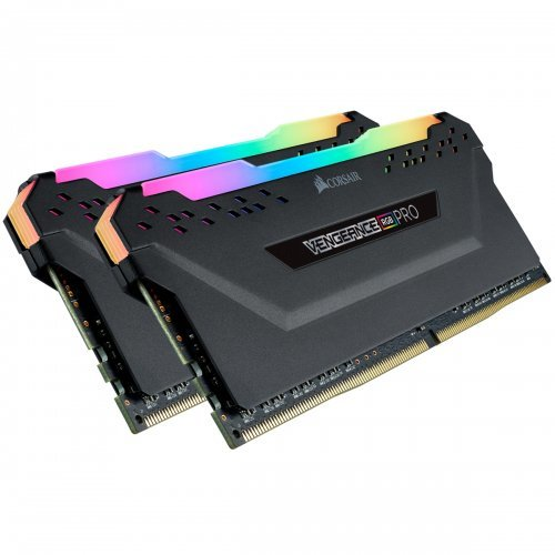 RAM памет DDR4 PC Kit 16GB(2x8GB) 3200MHz, Corsair Vengeance RGB PRO (снимка 1)