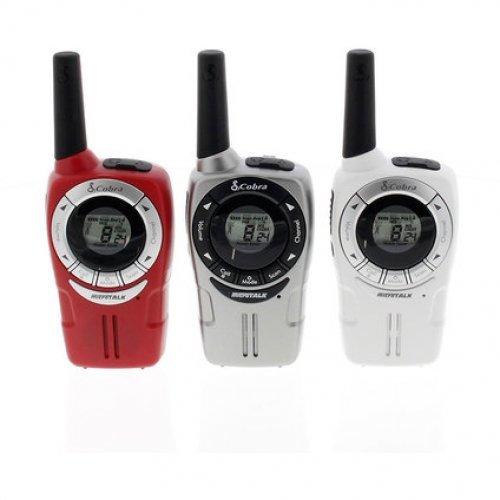Радиостанции Cobra SM660 - комплект 2бр - бяла, сива или червена (снимка 1)