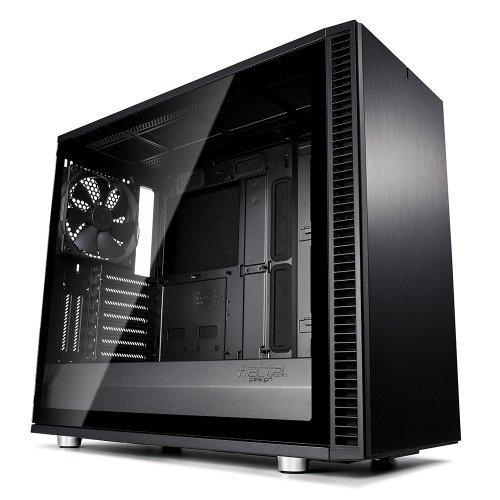 Компютърна кутия Fractal Design Define S2 Blackout Tglass, FD-CA-DEF-S2-BKO-TGL (снимка 1)