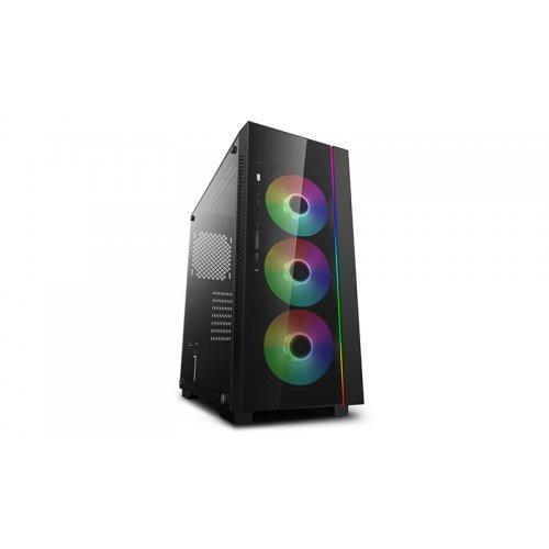 Компютърна кутия DeepCool Matrexx 55 ADD-RGB 3F V3, Addressable RGB, 3x120mm ADD-RGB Fans (снимка 1)