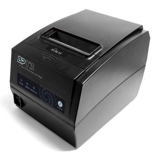 """Баркод скенер Термален принтер BIRCH BP-T3HB  3"""" , USB + RS232 + LAN, Черен (снимка 1)"""