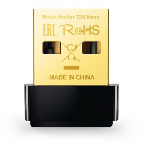 Безжичен USB адаптер TP-Link Archer T2U Nano AC600 USB Adapter (снимка 1)