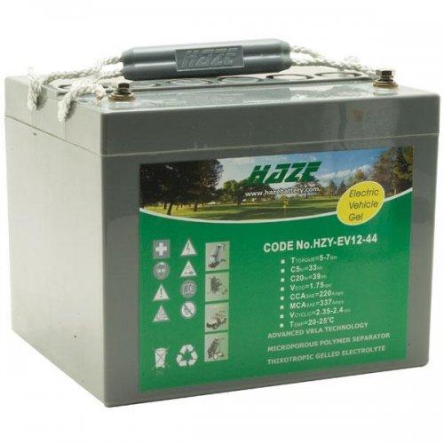 Батерия за UPS Оловна Батерия Haze (HZY12-44) 12V / 44Ah- 198 / 167 / 157 mm GEL (снимка 1)