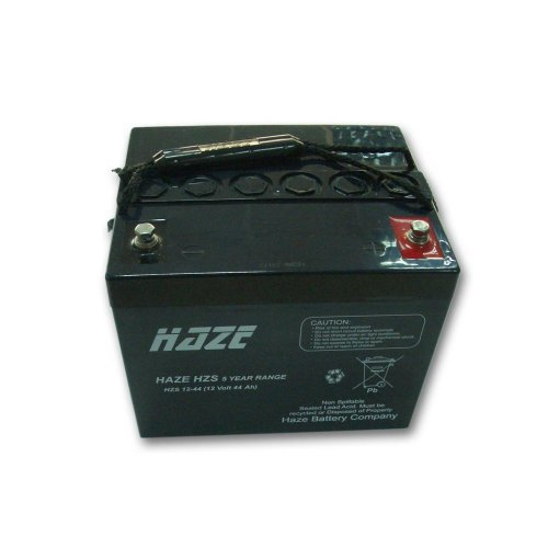 Батерия за UPS Оловна Батерия Haze (HZS12-44) 12V / 44 Ah - 198 / 167 / 157 mm AGM (снимка 1)