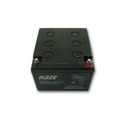 Батерия за UPS Оловна Батерия Haze (HZS12-26) 12V / 26 Ah - 168 / 178 / 124 mm AGM (снимка 1)